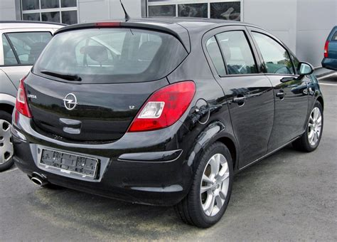 a d file opel corsa d 1 2 20090620 rear jpg wikimedia commons
