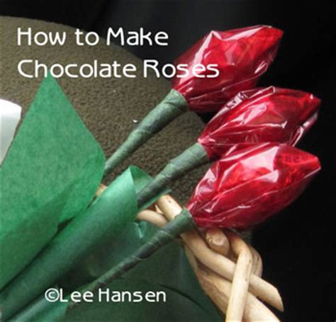 how to make chocolate decorations at home romantic candy craft chocolate rose bouquet valentine