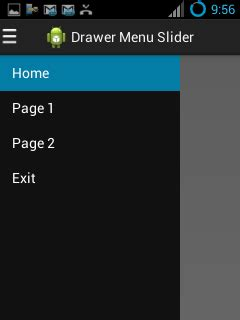 drawer layout in fragment android tutorial pemrograman dan source code android web mobile