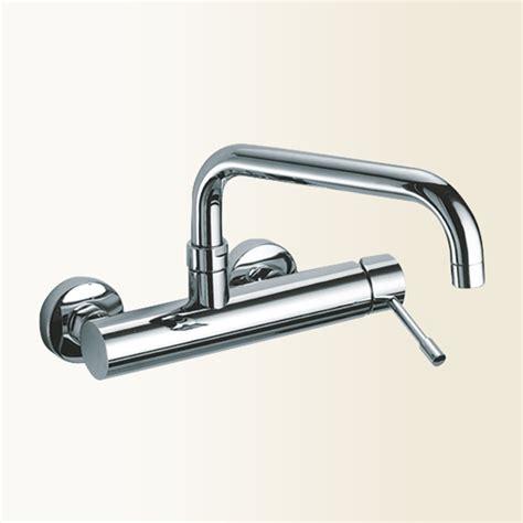 rubinetto parete linea cucina miscelatore lavello a parete finitura cromo