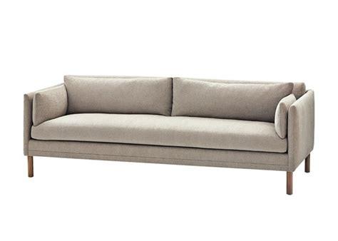 dwell calvin klein narrow arm sofa for the home