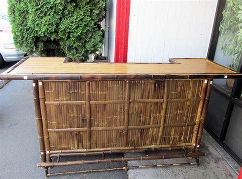 bamboo bar top recessed bamboo bar counter