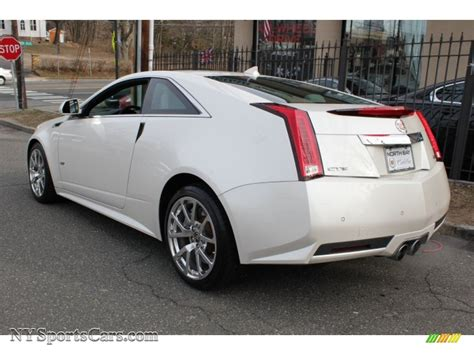 white cadillac cts coupe 2011 cadillac cts v coupe in white tricoat photo