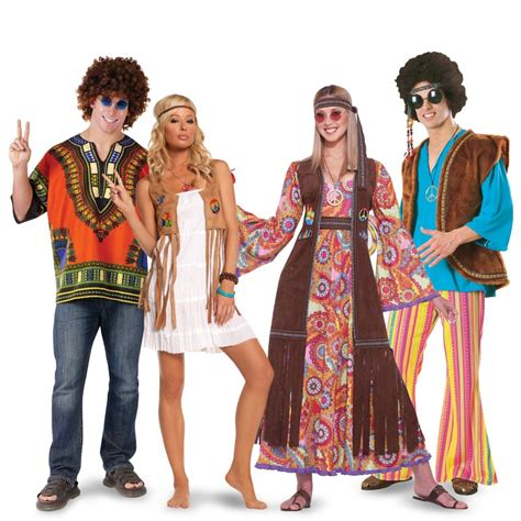 party themes adults dress up hippies couples costumes from buycostumes com hippies