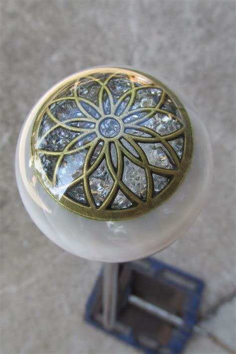 Girly Gear Shift Knobs by Stunning Ivory Filagree Flower Shift Knob Knobs Pearl