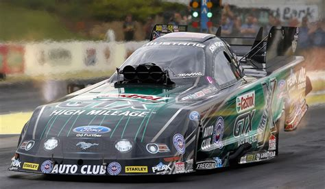 nhra funny car king john force facing uncertain 2015 john force beats ron capps for his 140th career victory in
