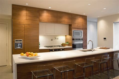 contemporary kitchen with flat panel cabinets by david looking caesarstone cost look vancouver contemporary