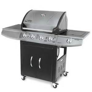 brinkmann pro series 4 burner gas bbq grill 810 8533 s