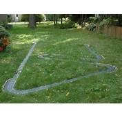 HO Slot Car Racing  Outdoor On The Parkmoor Garden