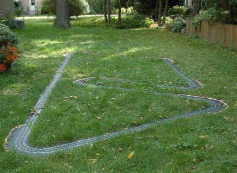 how to build a rc track in my backyard ho slot car racing outdoor racing on the parkmoor garden