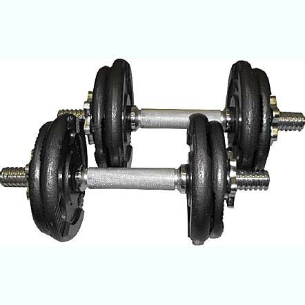 Dumbell 20 Kg bodyworx 20kg dumbell kit melbourne the fitness shop