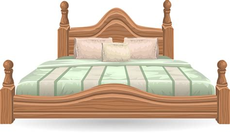 free beds free large elegant bed clip art