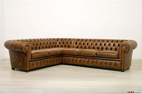 divani a angolo prezzi divano chesterfield angolare prezzi e misura