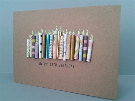 Ideas For 18th Birthday Cards Handmade - best 25 18th birthday cards ideas on diy 18th
