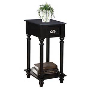 small black side table with drawer big lots