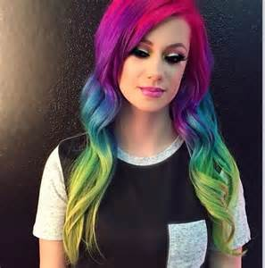 rainbow hair color pictures rainbow hair color hair color rainbow hair