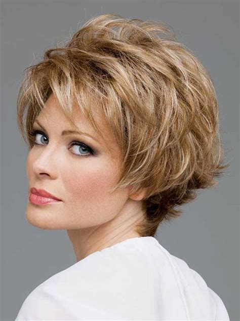 hairstyled for round faced 44 yr old woman 47 best images about short hairdos on pinterest curly