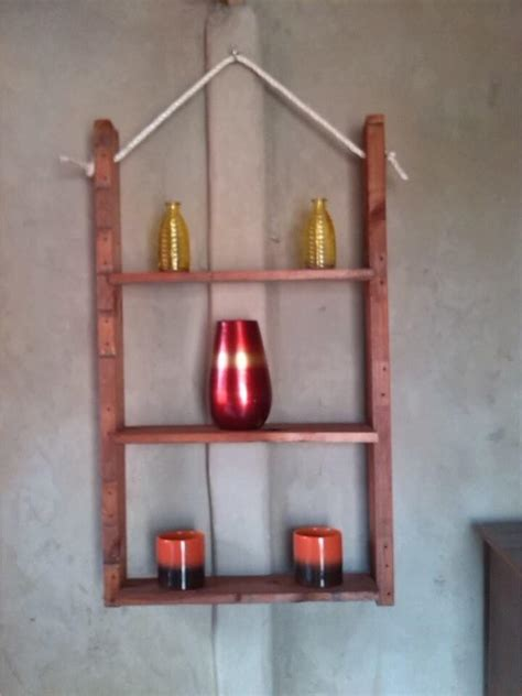 hanging shelf ideas pallet and nautical rope wall shelf