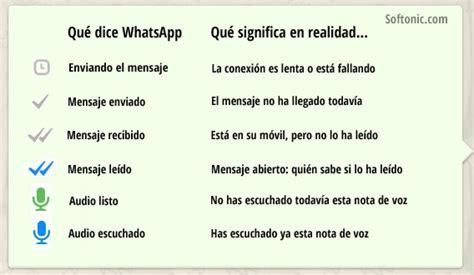 mensajes subliminales que significan whatsapp qu 233 significan el doble check azul y otros
