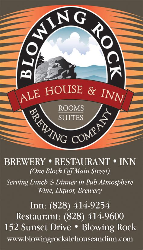 ale house inn blowing rock ale house inn the high country