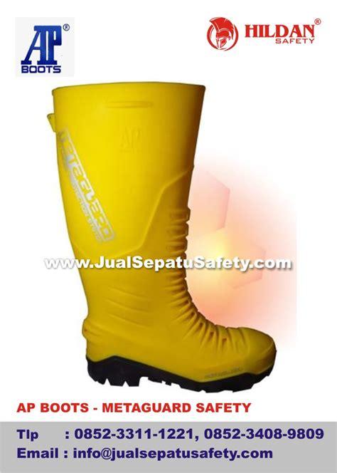 Sepatu Boot Ap Safety sepatu proyek pelindung tulang kering dan tulang telapak
