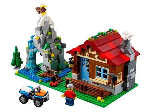 Lego Creator Mountain Hut 31025 lego 31025 mountain hut i brick city