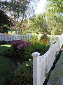 white picket fence landscaping ideas and dreams pinterest