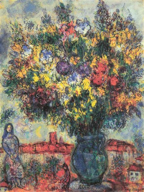 painting reproductions dans le jardin chagall painting reproduction 3923