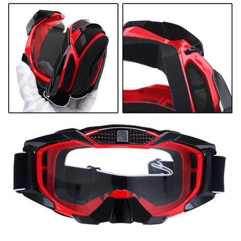 motocross goggles with possbay sport motocross dirt bike mx mtb atv gear