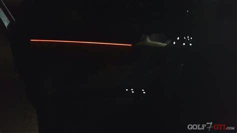 golf 7 beleuchtung ambientebeleuchtung im clubsport nachr 252 sten golf 7 gti