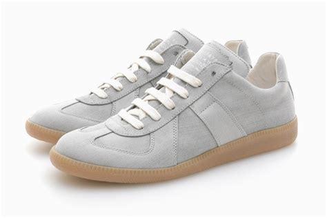 maison martin margiela sneakers for maison martin margiela bleached denim sneaker hypebeast