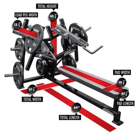 unilateral bench press leveredge unilateral converging flat chest press legend