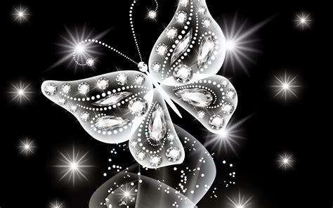 witte achtergrond met 3d pingun met zonnebril en een ijsje vlinder van diamanten en kralen mooie leuke