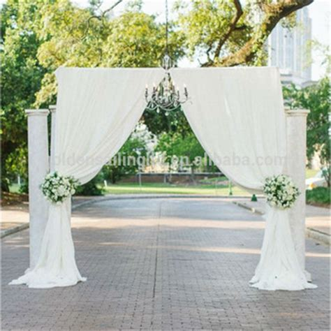 Wedding Backdrop Equipment by New Products Wedding Backdrop Stand Pipe And Drape System