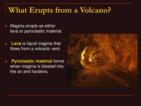 Lava L Materials by Ppt Chapter 9 Volcanoes Powerpoint Presentation Id 82326