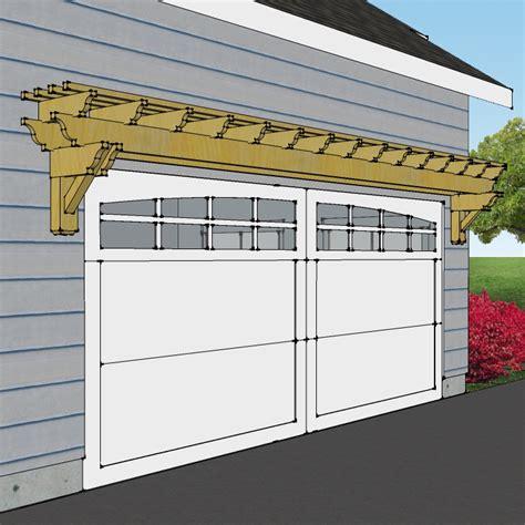 Garage Door Pergola by Rustic Patio Overhang Plans House Design And Decorating