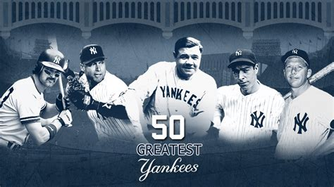 a for all time news espn ny 50 greatest yankees espn