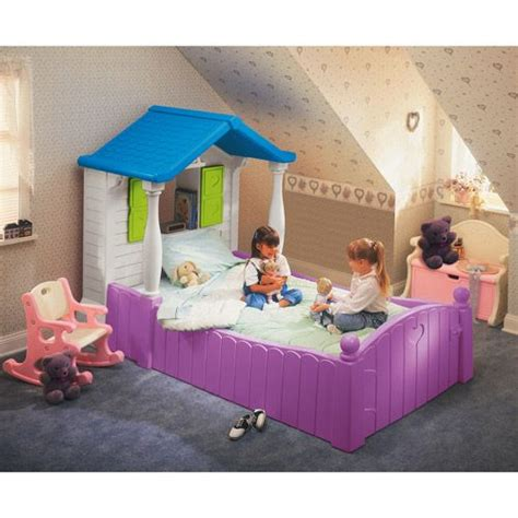 little tikes bedroom furniture little tikes storybook cottage twin bed purple toddler