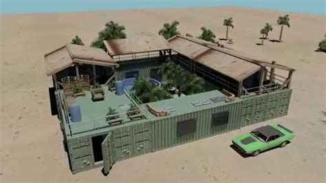 Home Design 3d Undo by Mini Compound Shipping Container House Pool Youtube
