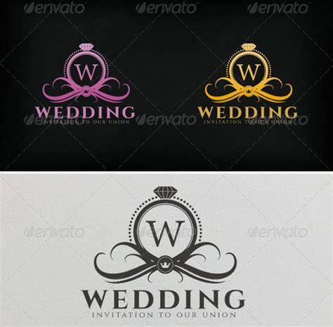 Wedding Logo Images by Wedding Planner Logo Design Www Pixshark Images