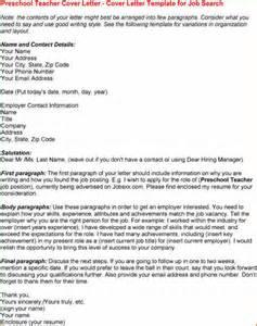 15  application letter for a pre school teacher   Basic