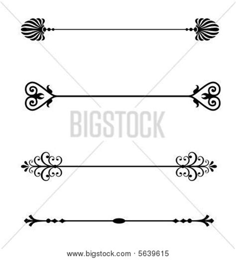 Concept Wedding Division by Picture Or Photo Of Ornamental Line For Page