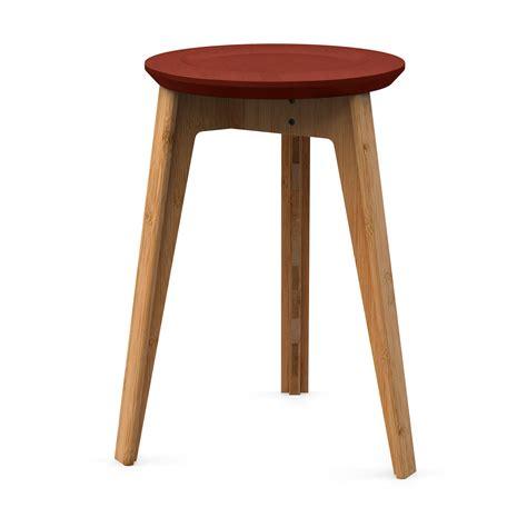 hocker rot button stool hocker rot natur a056102 002