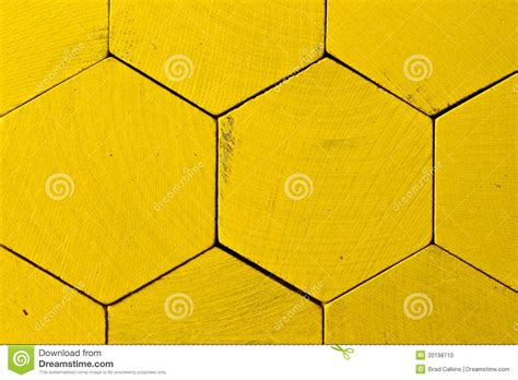 yellow pattern tiles honeycomb pattern stock photo image 20198710