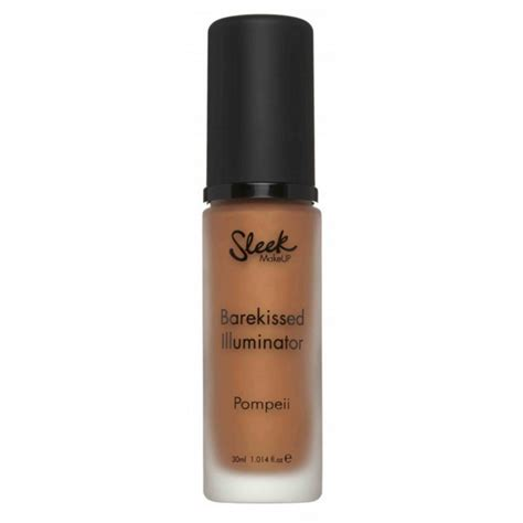 Sleek 80 Ml sleek makeup barekissed illuminator pompeii 30 ml 79 kr