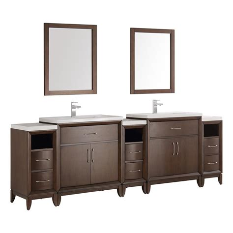 96 double vanity top fresca cambridge 96 in vanity in antique with