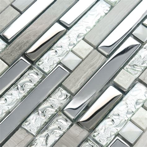 interlocking bathroom floor tiles interlocking mosaic tile sheets stainless steel glass and