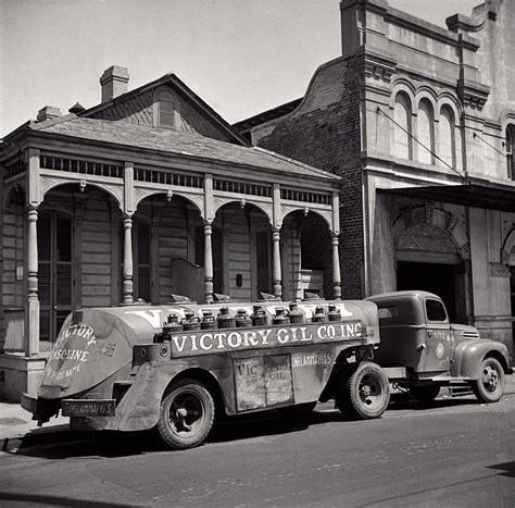 truck in orleans victory company delivery truck orleans 1943