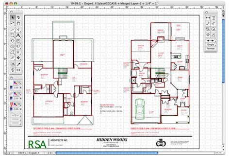home design cad macdraft professional mac os x home design software