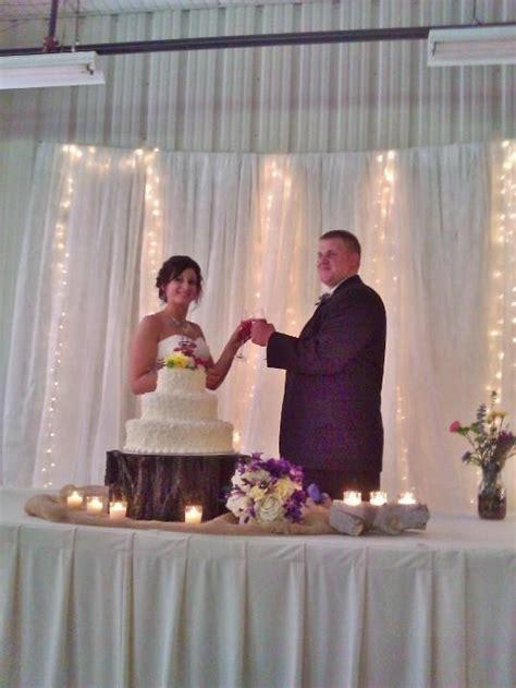 cake table backdrop backdrop lights for cake table wedding wedding table wedding cake